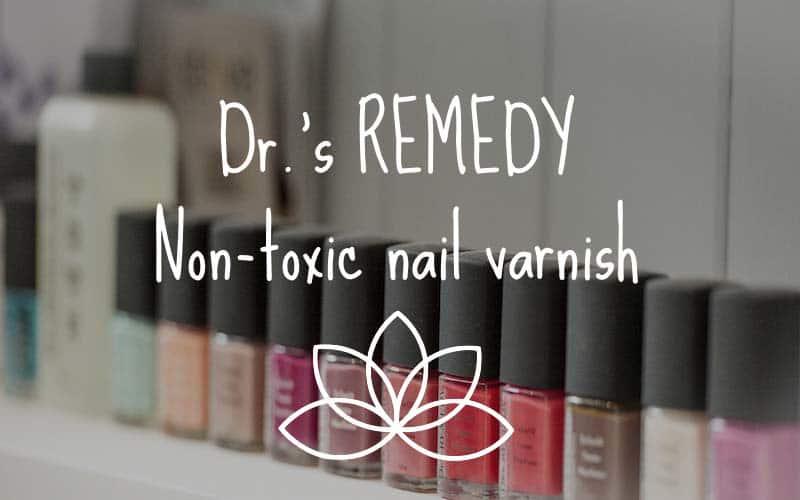 Dr.'s Remedy non toxic nail varnish