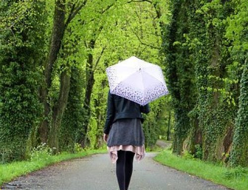 Walking with mindfulness