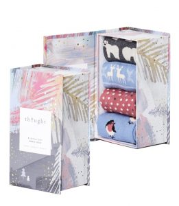 Bamboo socks gift set for her cropped