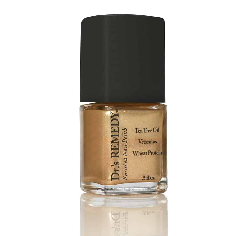 Dr's Remedy non-toxic nail polish gold