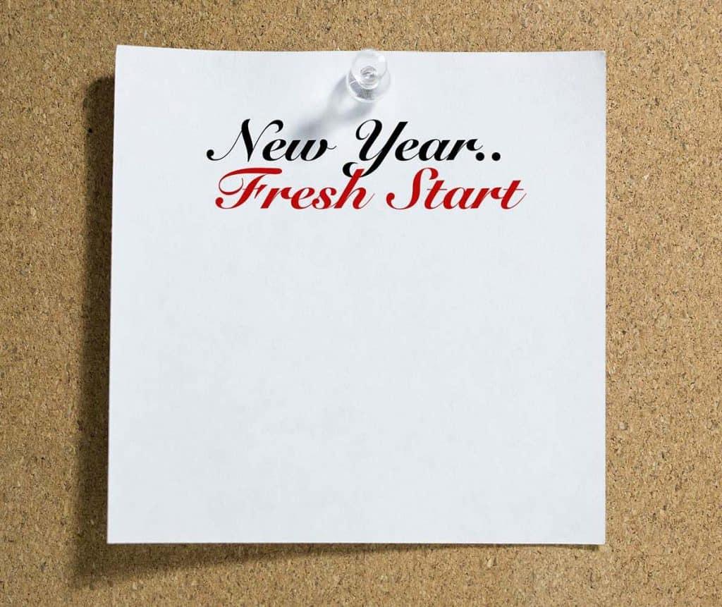 New Year... Fresh start