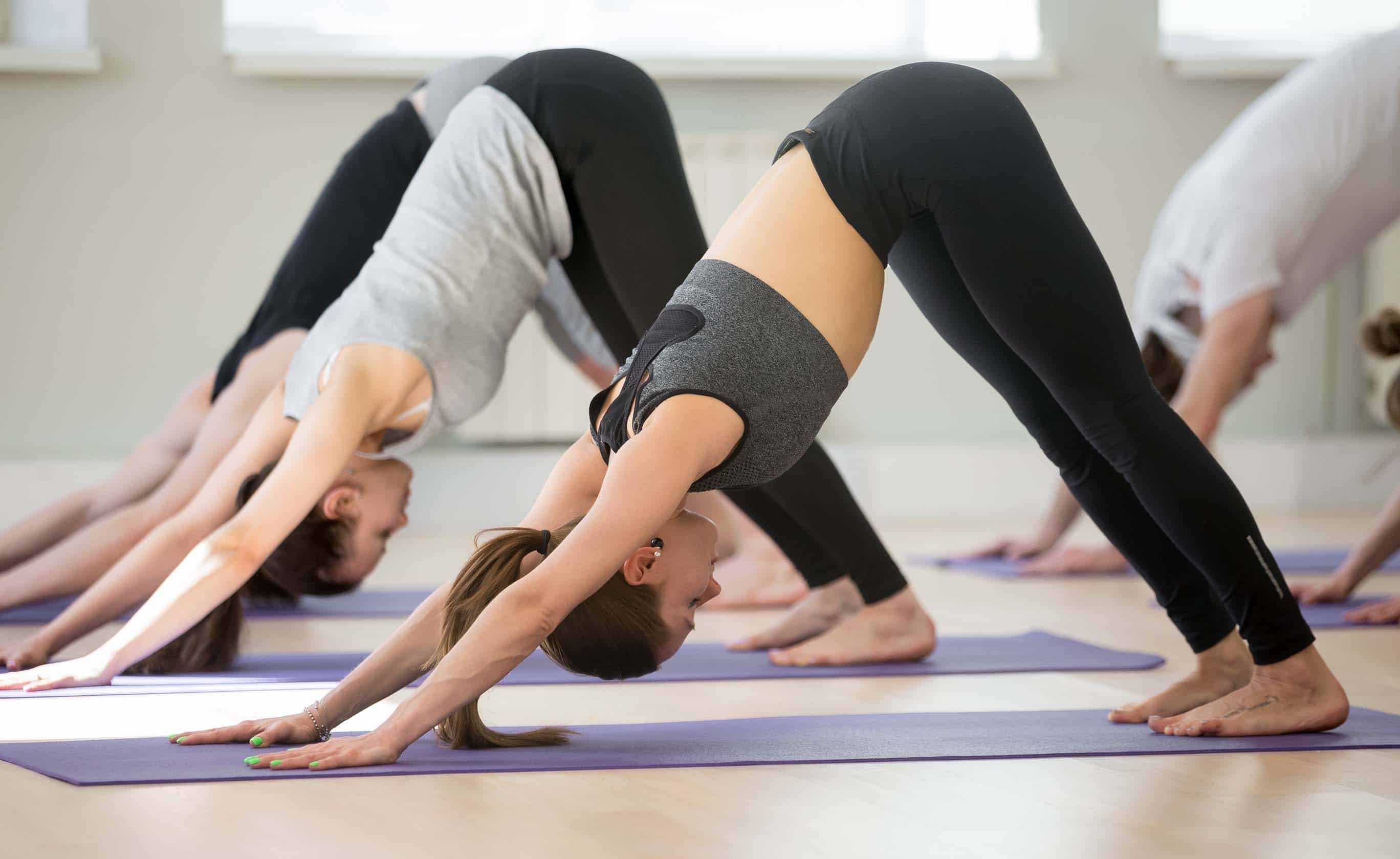 Yoga for beginners class