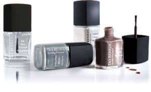 Trendy grey natural nail polishes from Dr's Remedy