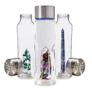 bewater crystal healing glass bottles