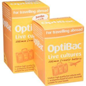 optibac travelling abroad