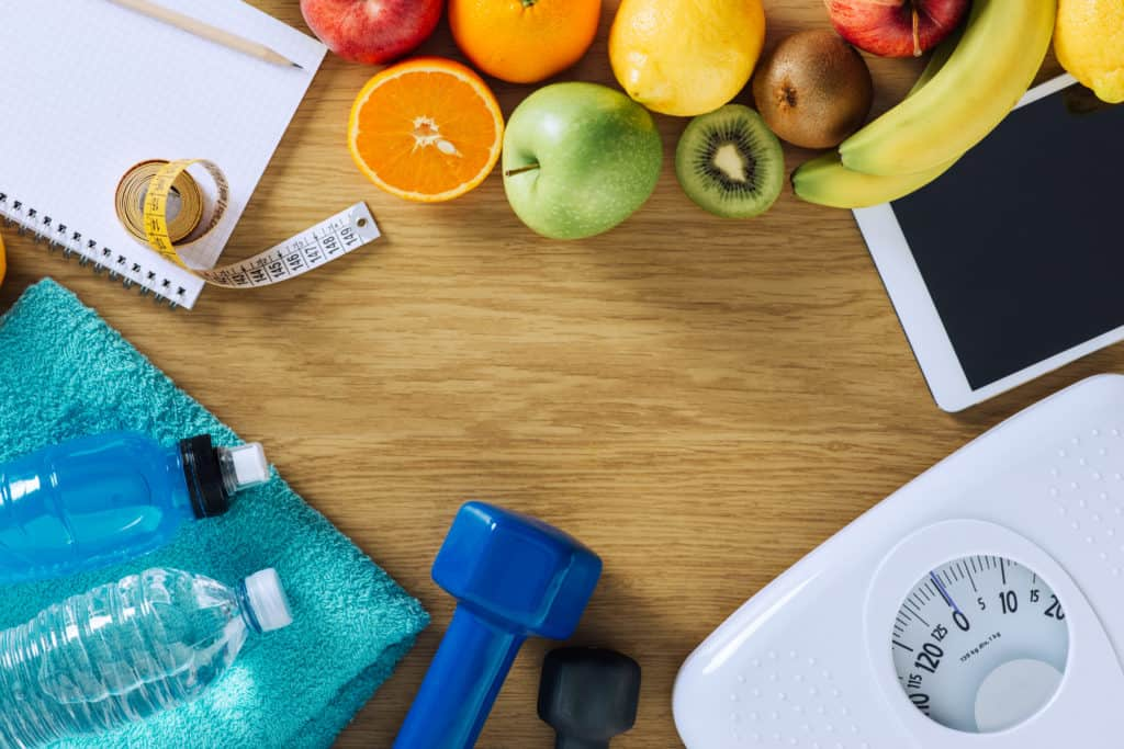 all the ingredients needed for healthy weight loss