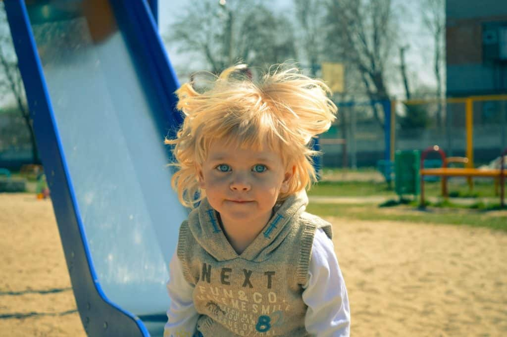 Wild child: demonstrating the type of child who needs the homeopathic remedy sulphur