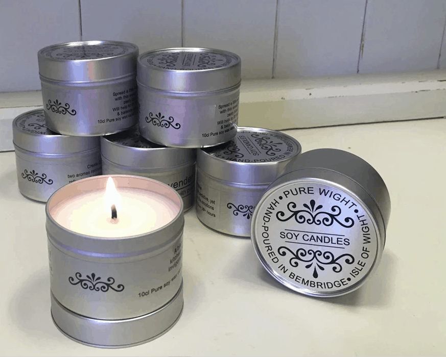 Pure Wight all-natural travel candles