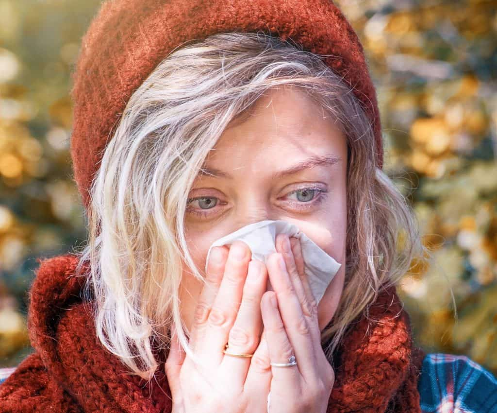 Acupuncture can be an effective alternative to antibiotics for a common cold