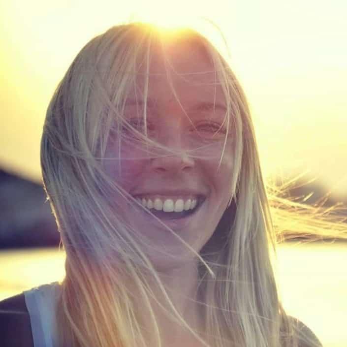 Lexi Dranidi, offering restorative yoga and holistic massage