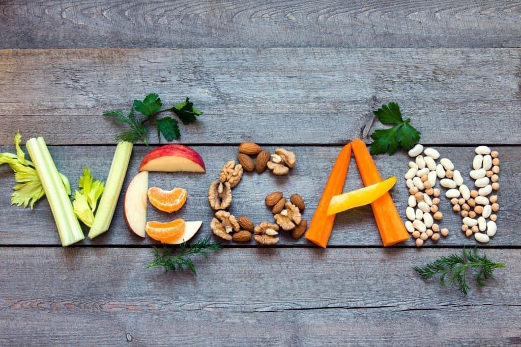 Plant-based vegan diet