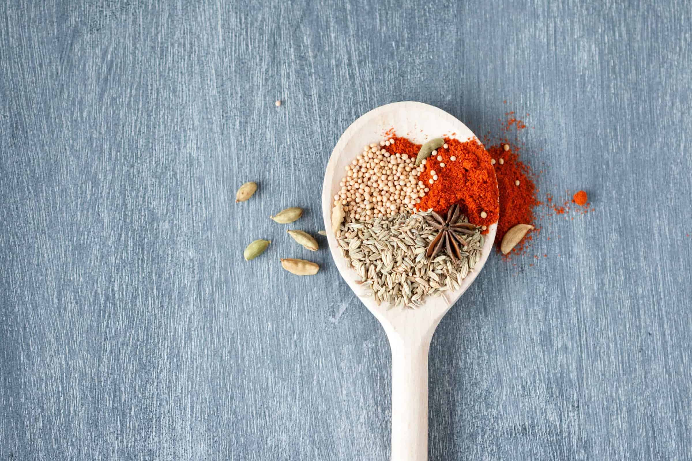 Canva - Spices on White Spoon