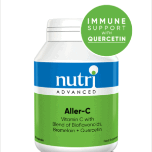 Aller-C for immune support and allergies with quercetin