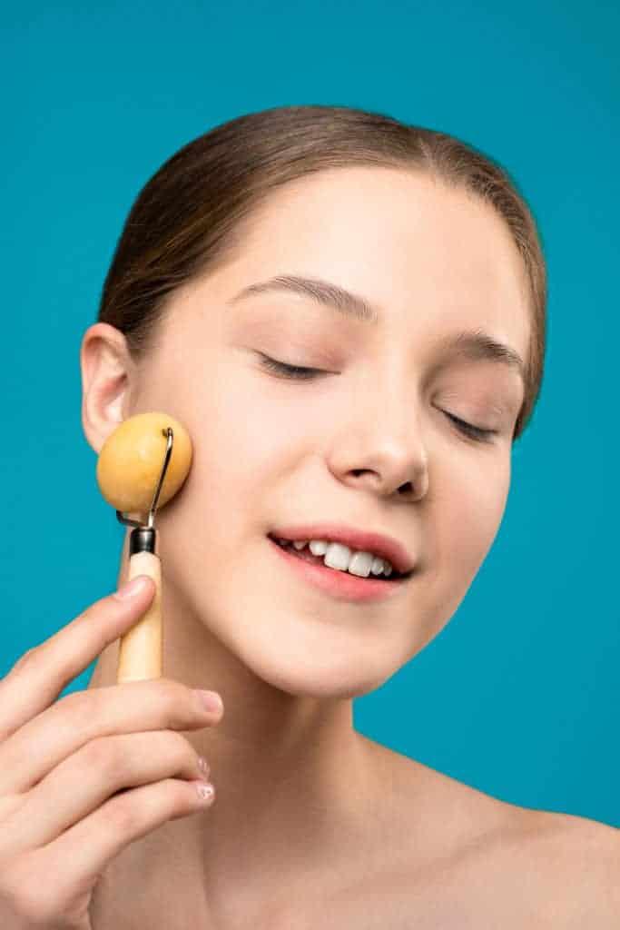 DIY ayurvedic facial massage