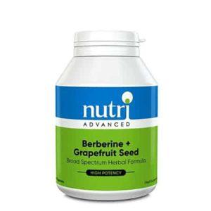 Nutri Advanced Berberine + Grapefruit Seed capsules