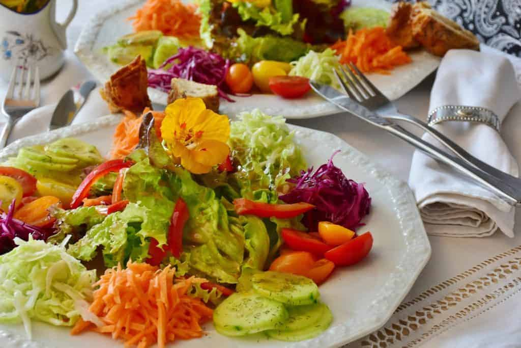 Eat all the colours of the rainbow in your diet over a week