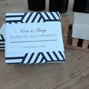 Nora & Kelly Rosemary & Cinnamon soap