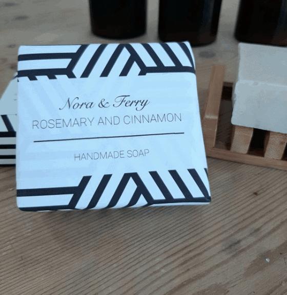 Nora & Kelly Rosemary & Cinnamon soap