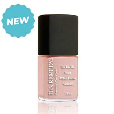 Dr's Remedy Polished Pale Peach nail polish