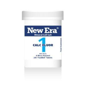 New Era tissue salts No1 calc fluor