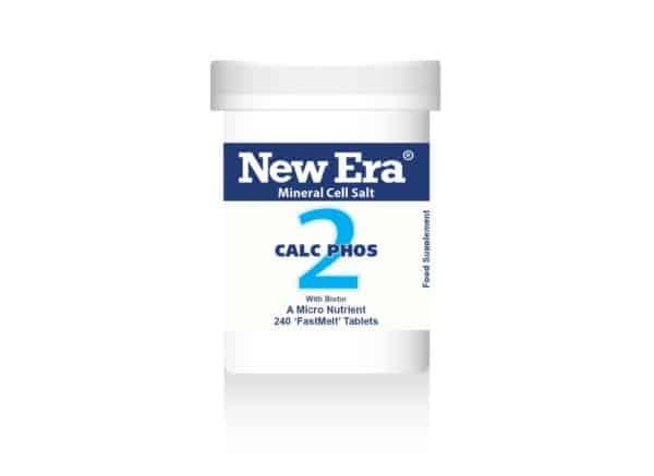 New Era tissue salts No2 calc phos