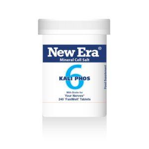 New Era tissue salts No6 Kali Phos