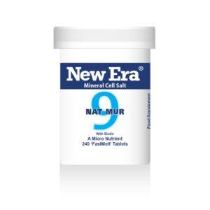 New Era tissue salts No9 Nat Mur