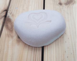 Jacquie's Soaps sea salt and lavender handmade soap
