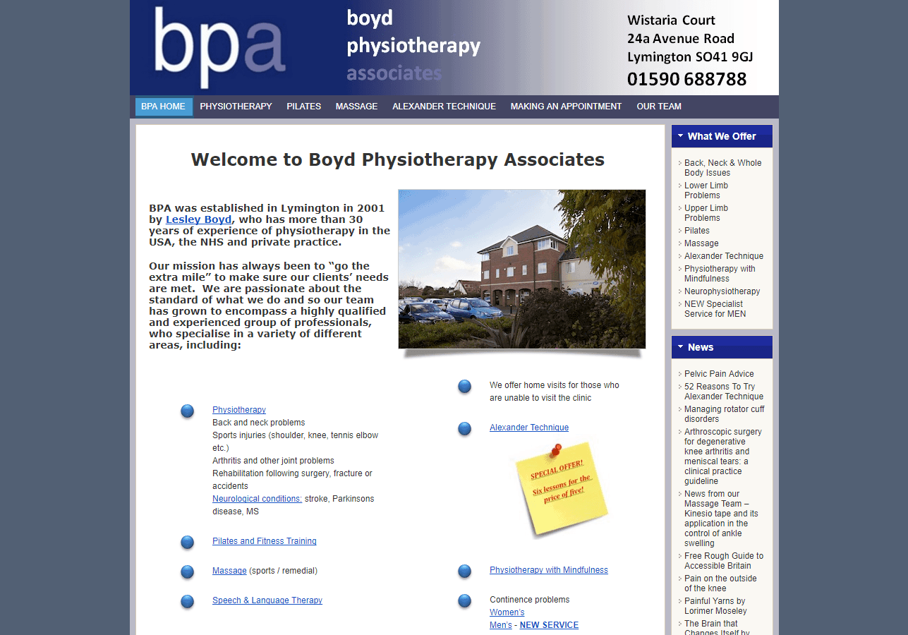 Boyd Physiotherapy Associates