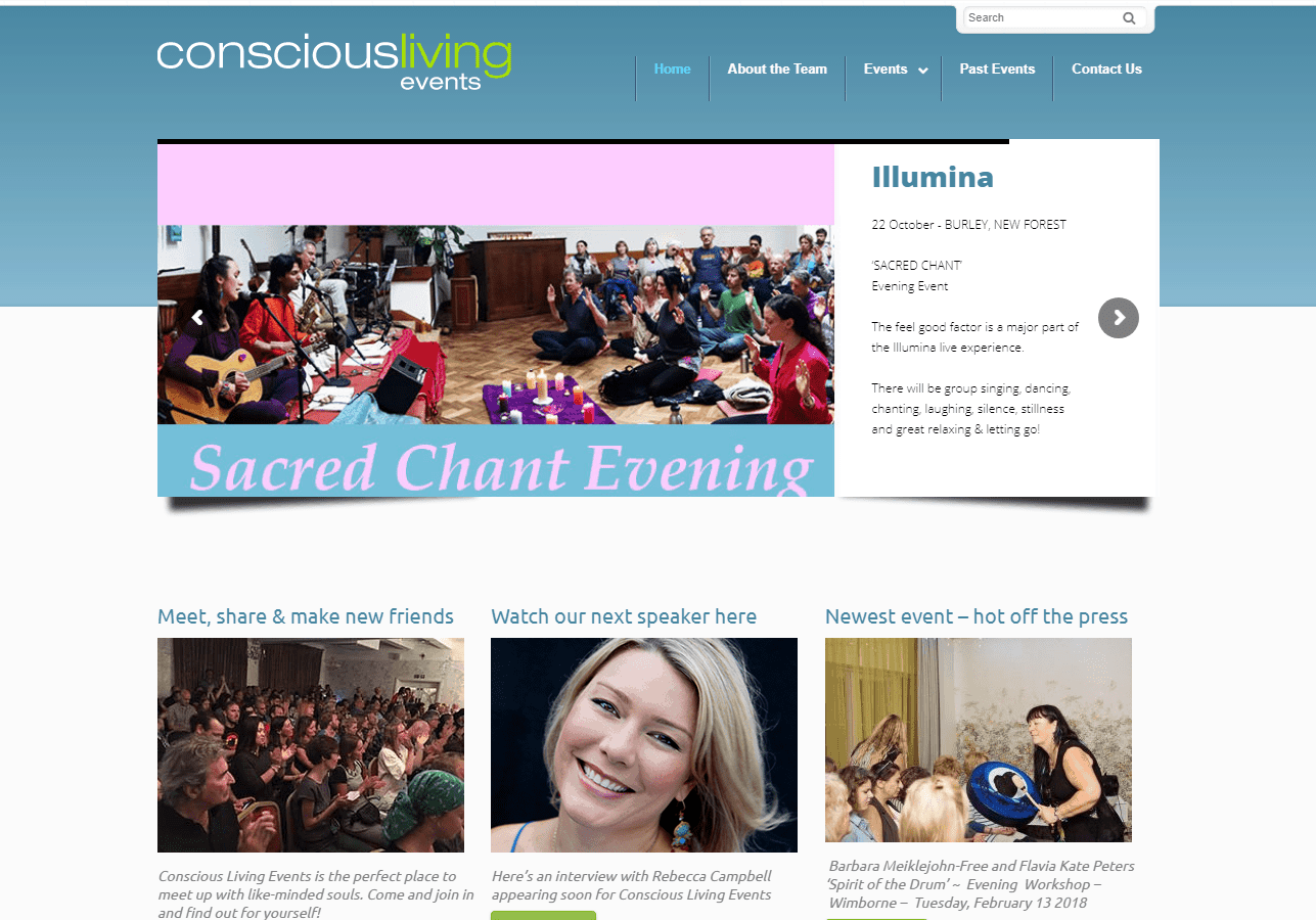 Conscious Living Events