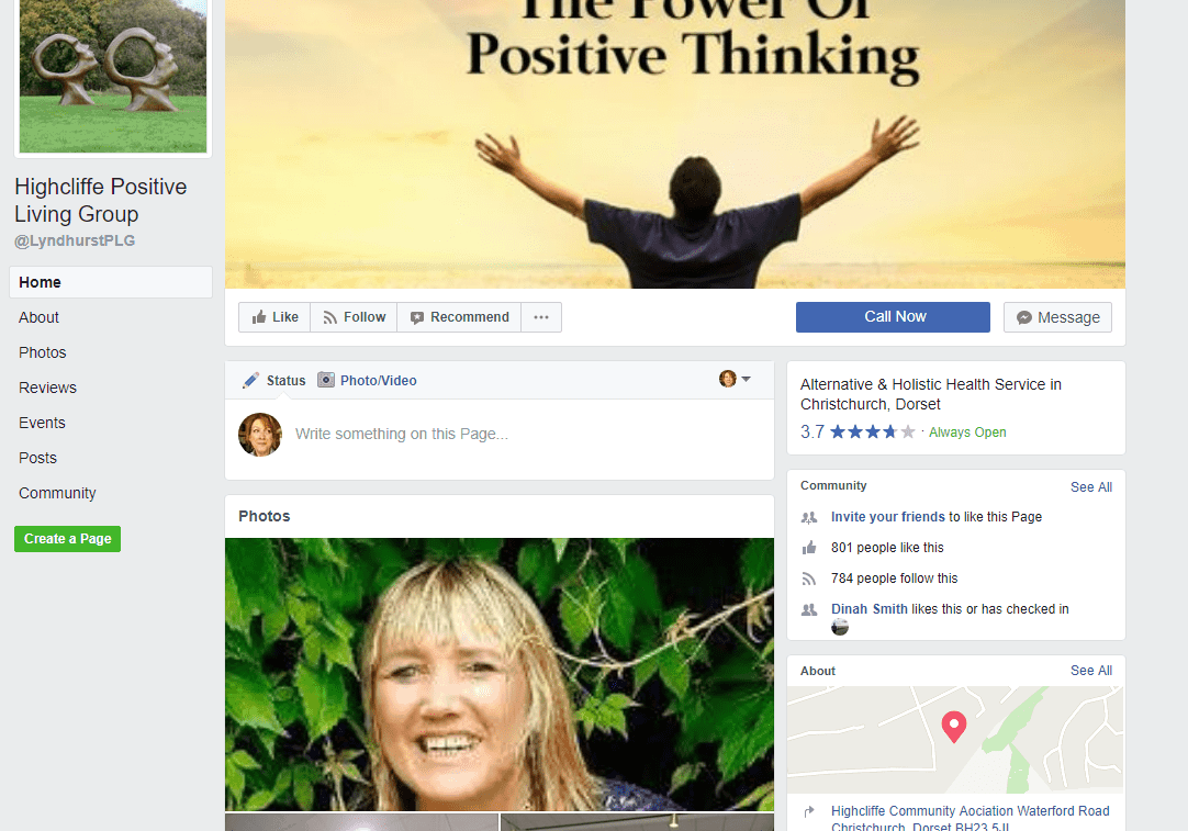 Highcliffe Positive Living Group