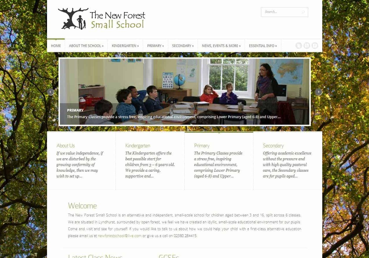 New Forest Small School